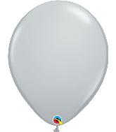 "16"" Qualatex Gray Latex Balloons"