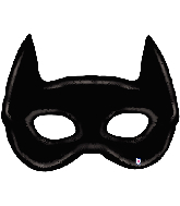 "45"" Foil Shape Balloon Bat Mask"