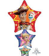 "42"" Jumbo Toy Story 4 Foil Balloon"