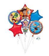 Bouquet Toy Story 4 Foil Balloon