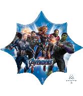 """35"""" Jumbo Avengers Endgame Foil Balloon"""