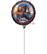 """9"""" Airfill Only Avengers Endgame Foil Balloon"""