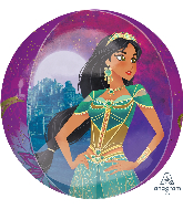 "16"" Aladdin Orbz Foil Balloon"