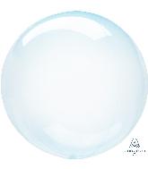 """18"""" Crystal Clearz Blue Balloon"""