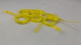 Yellow Precut Ribbon Length 7.3 Feet (100 Per bag)
