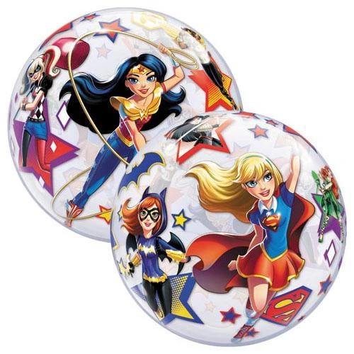 "22"" Bubble Balloon DC Super Hero Girls"