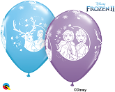 "11"" Disney Frozen 2 Latex Balloons (25 Per bag)"