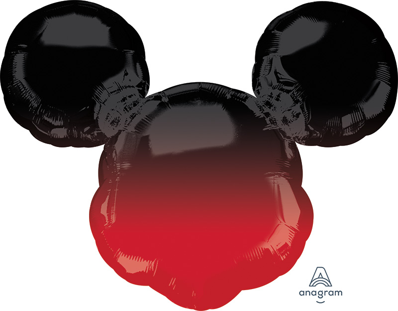 "27"" Mickey Mouse Forever Ombré SuperShape Foil Balloon"