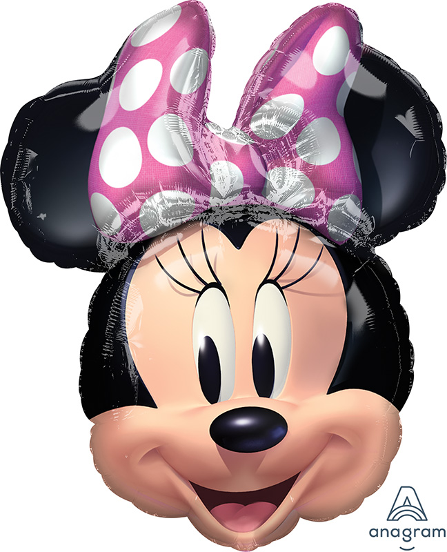 """26"""" Minnie Mouse Forever SuperShape Foil Balloon"""