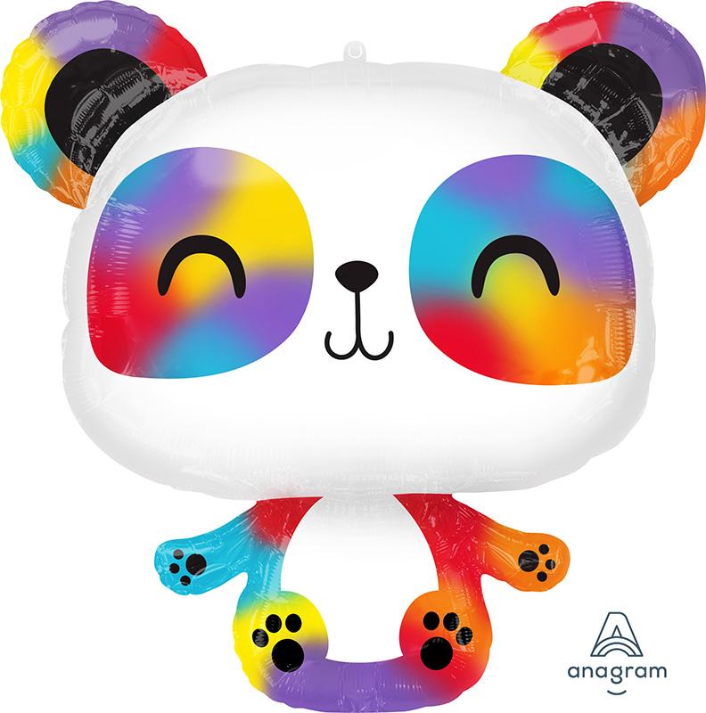 """24"""" Panda SuperShape Foil Balloon"""