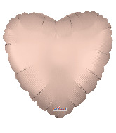 "9"" Solid Color Matte Rose Gold Foil Balloon"