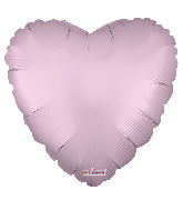 "9"" Solid Color Matte Pink Foil Balloon"