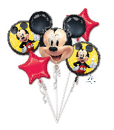 Mickey Mouse Forever Bouquet Foil Balloon