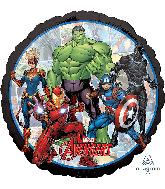 """18"""" Avengers Marvel Powers Unite Foil Balloon"""