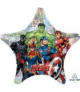 """28"""" Avengers Marvel Powers Unite Jumbo Foil Balloon"""