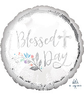"""18"""" Holy Day Blessed Day Foil Balloon"""