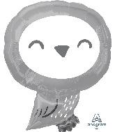 "19"" Owl Foil Balloon"
