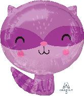 "18"" Raccoon Foil Balloon"