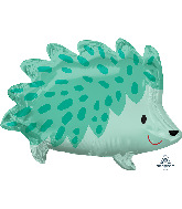 "20"" Hedgehog Foil Balloon"