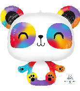 "24"" Panda SuperShape Foil Balloon"