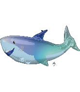 "38"" Shark SuperShape Foil Balloon"