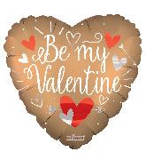 """36"""" Be My Valentine Matte Foil Balloon"""