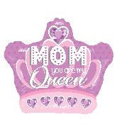 """18"""" Mom Queen Foil Balloon"""