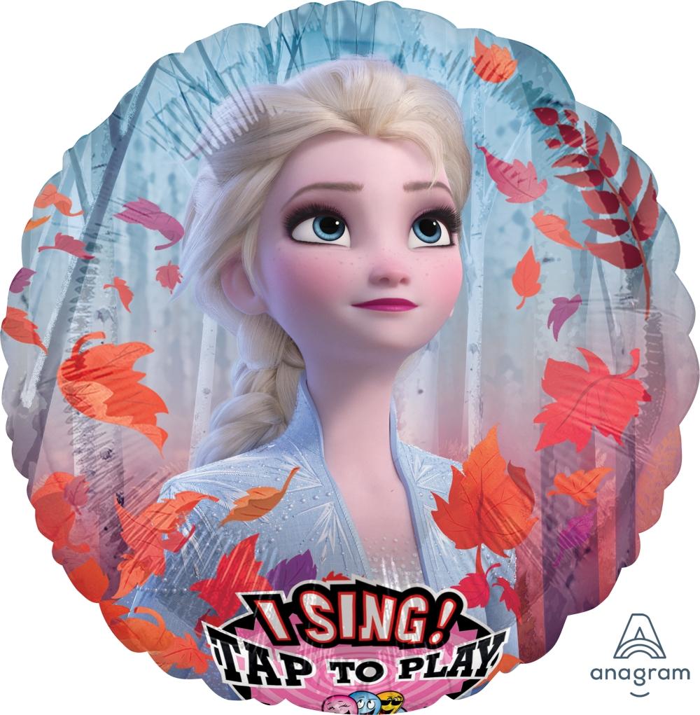 "28"" Singing Disney Frozen 2 Foil Balloon"