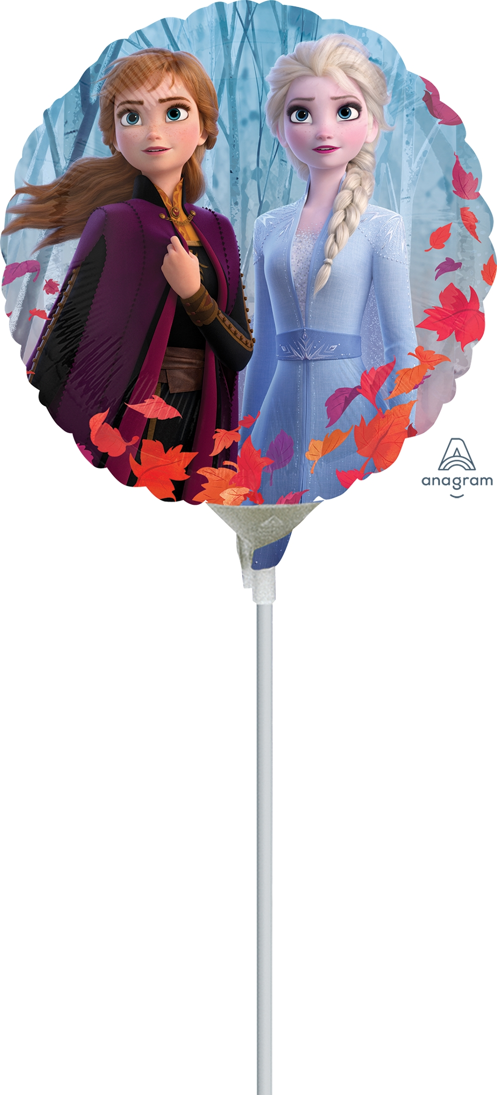 "4"" Frozen 2 Airfill Only Foil Balloon"