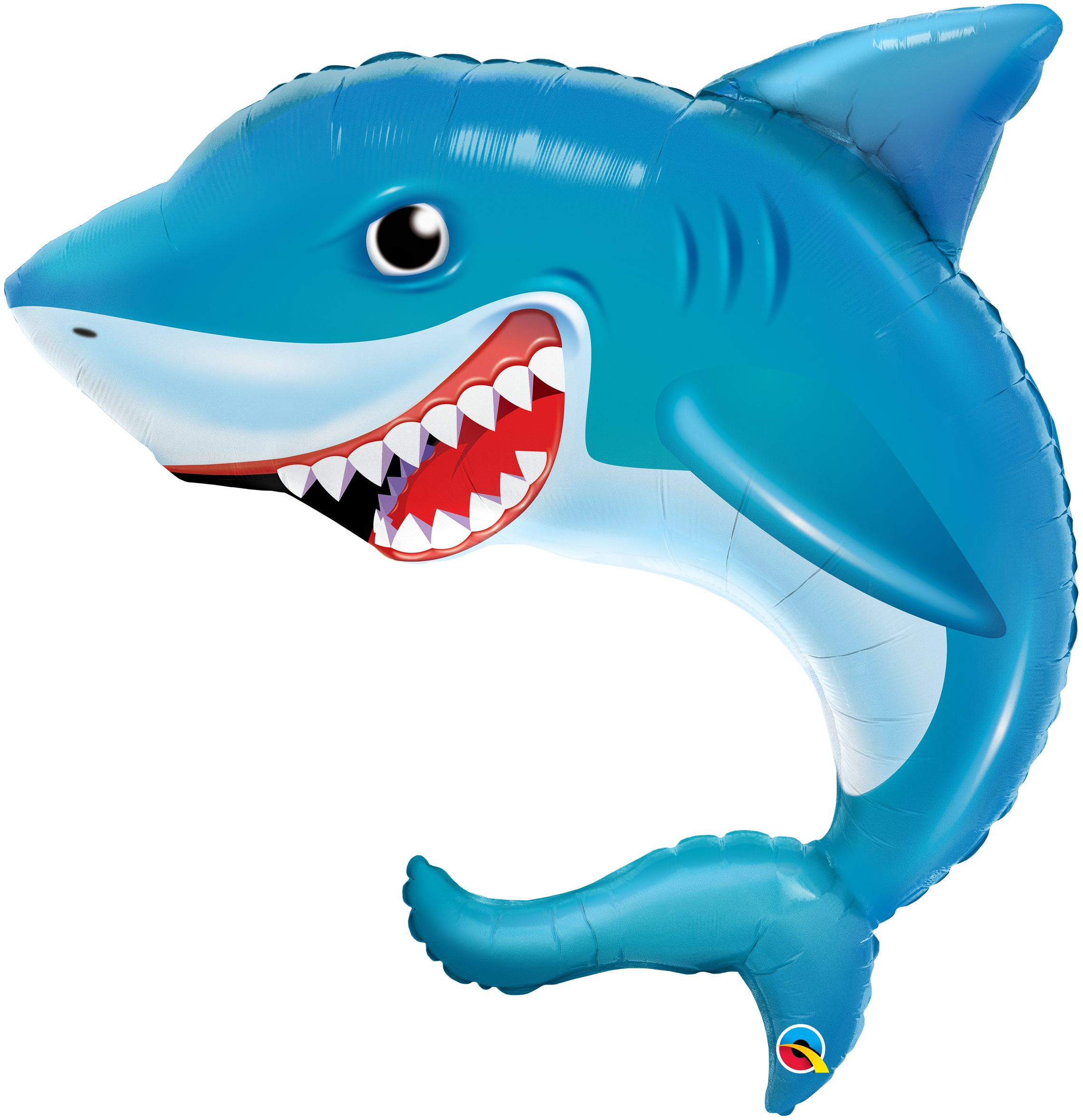"36"" Smilin' Shark Foil Balloon"