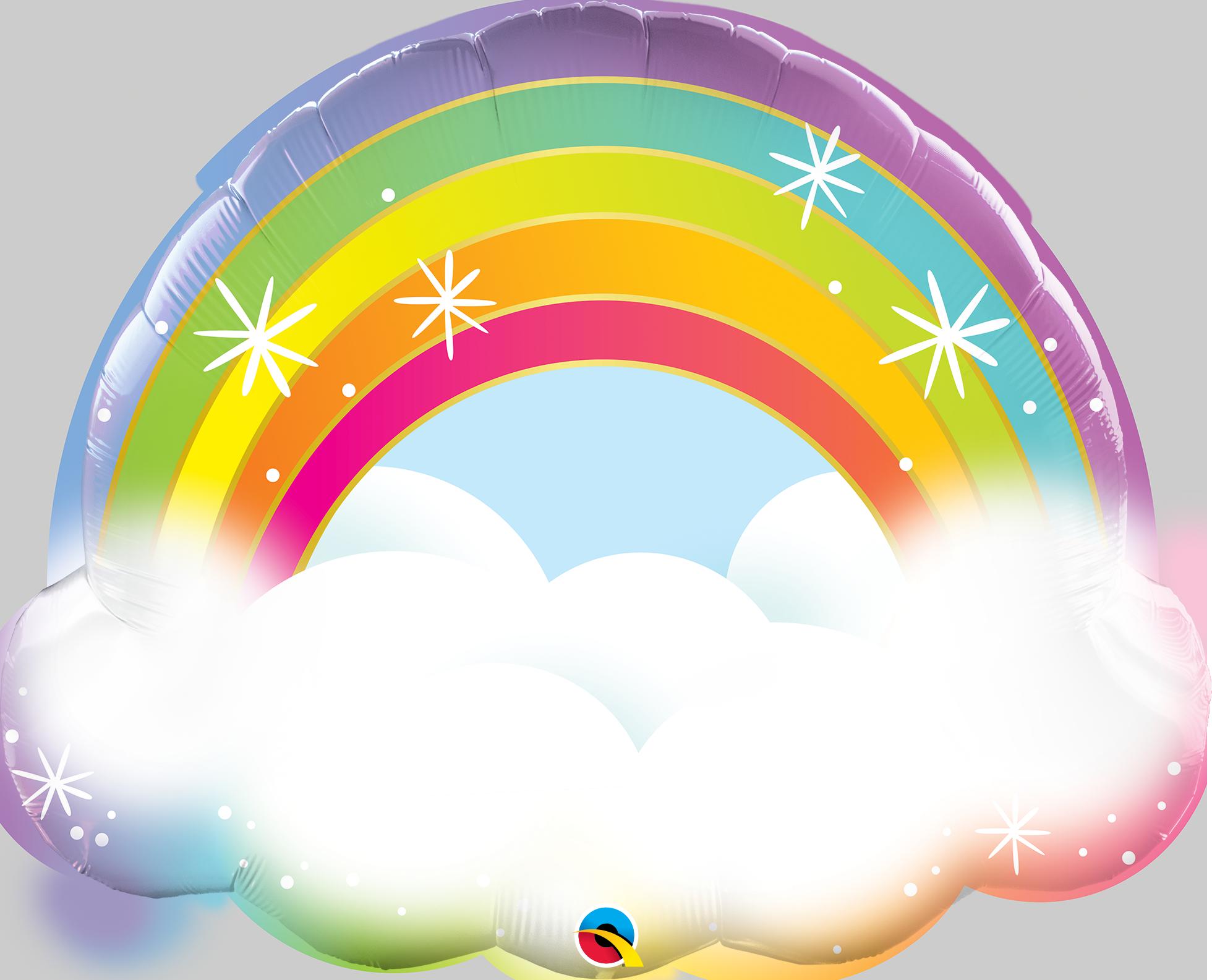 """32"""" Rainbow Foil Balloon"""