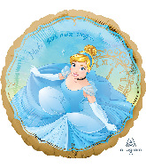 "18"" Cinderella Once Upon A Time Foil Balloon"