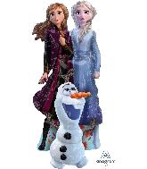 Frozen 2 Elsa, Anna, Olaf Airwalker Balloon