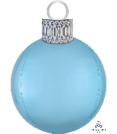 "20"" Pastel Blue Orbz Ornament Kit Foil Balloon"