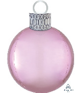 "20"" Pastel Pink Orbz Ornament Kit Foil Balloon"