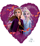 "18"" Disney Frozen 2 Love Foil Balloon"