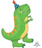 """34"""" Jumbo Dinomite T-Rex Foil Balloon"""