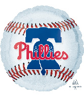 "18"" Philadelphia Phillies Foil Balloon"
