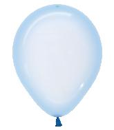 "5"" Betallatex Latex Balloons Crystal Pastel Blue"