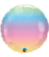 """18"""" Pastel Ombre Foil Balloon"""