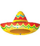 """41"""" Sombrero Foil Balloon"""