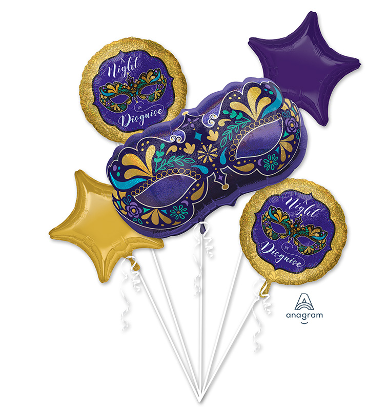 Bouquet Night in Disguise Foil Balloon