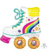 """30"""" SuperShape Roller-skate Foil Balloon"""