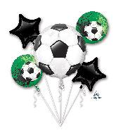 Bouquet Goal Getter Foil Balloon