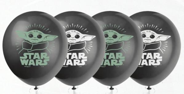 "11"" Latex Balloons Star Wars The Child Yoda (8 Per Bag)"