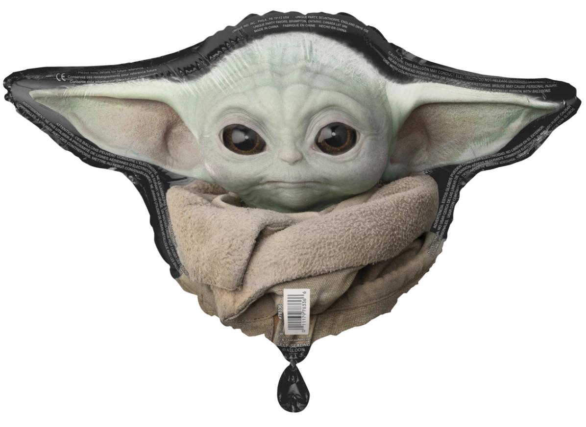 "27"" Star Wars The Mandalorian Foil Helium Balloon"