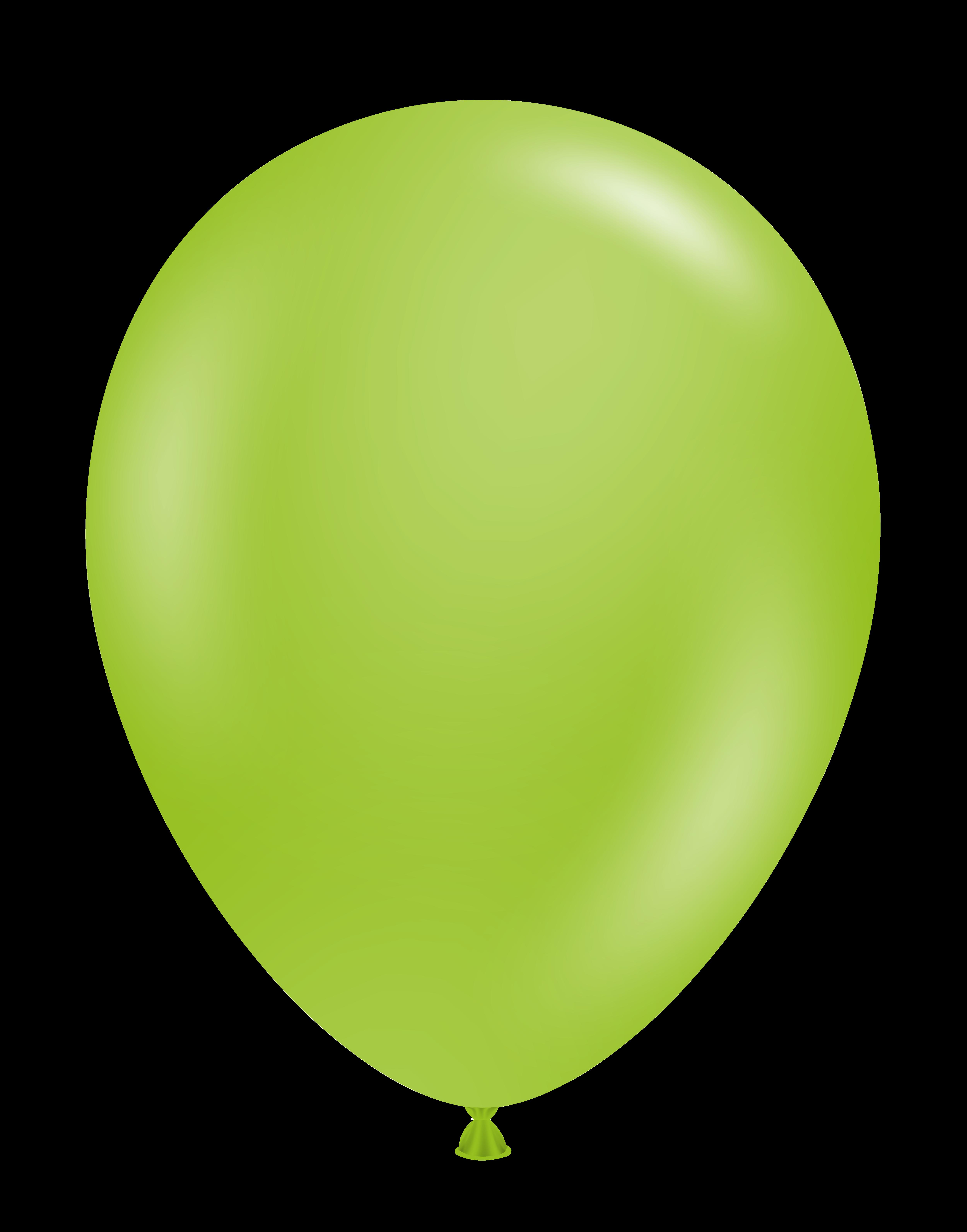 11 Inch Tuftex Latex Balloons (100 Per Bag) Lime Green