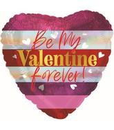 """17"""" Valentine Forever Foil Balloon"""