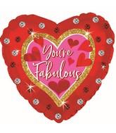 """18"""" You're Fabulous Foil Balloon"""