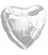 "9"" Airfill CTI Silver Heart"